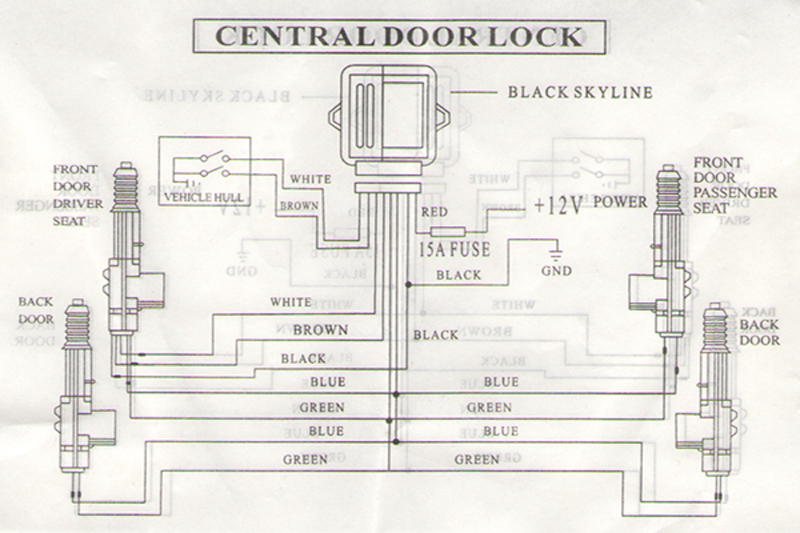 lock actuator wiring diagram ford focus electric door lock does ...: ford galaxy door wiring diagrams at sanghur.org